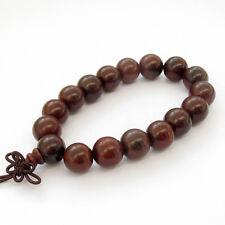 12mm Wood Beads Tibet Buddhist Prayer Bracelet Mala