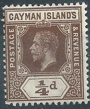 George V (1910-1936) Postage Caymanian Stamps