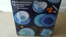 Melamine 12 Dinnerware Set