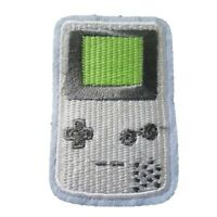 Gameboy Grey Retro Embroidered Iron On Patch Dress Bag t-shirt Jacket Skirt