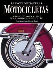 La enciclopedia de las motocicletas: Mas de 2.500 motocicletas desde-ExLibrary