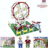 Kids Children Building Blocks Fairground Large Set Indoor Outdoor (LEGO Size) UK