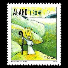 "Aland 2006 - EUROPA Stamp ""Integration"" Art - Sc 248 MNH"