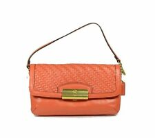 Coach Kristin Woven Leather Convertible Clutch Bag Small Wristlet F49094