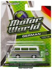 1:64 GreenLight *MOTOR WORLD R16* White & Grey 1972 VW Volkswagen Type 2 *NIP!*