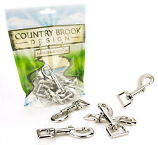 50 - Country Brook Design® 3/4 Inch Heavy Swivel Snap Hooks