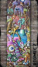 5x15 HUNGRY, Graffiti tattoo wall art panda owl mushroom bird egg elephant cute2