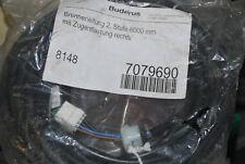 BOSCH BUDERUS 7079690 BRENNERLEITUNG 2. STUFE 8000MM ZUGENTLASTUNG RECHTS NEU