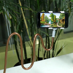 Flexible 360° Long Arms Lazy Stand Clip Holder Mobile Phone Tablet iPad Desktop