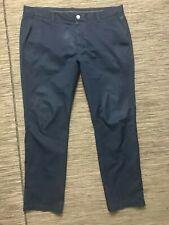 Bonobos Maide Golf Pants Slim Fit 38 x 32 ACTUAL 39 x 30 Blue