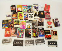 Lot of 30 Cassette Tape Singles 90's Hip Hop R&B Other Please Read