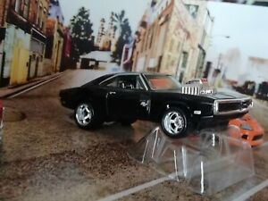 '70 DODGE CHARGER R/T gloss black from Fast Furious box set New without package
