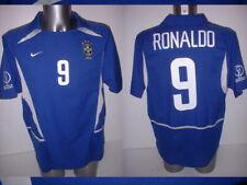 Brazil Brasil Adult RONALDO XL Vintage Shirt Jersey Soccer 2002 NIKE Football