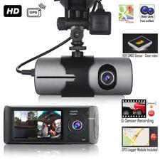 UK Dual Lens Night Vision GPS Camera HD Car DVR Dash Cam Video Recorder G-Sensor