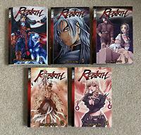 Lot Of 5 Rebirth Manga Vols 1 5 8 12 14 Graphic Novel Book English Tokyopop Woo