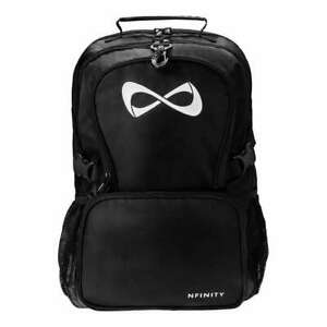 Nfinity Classic Backpack Cheer Bag / Black / New! SHIPS FREE, FAST