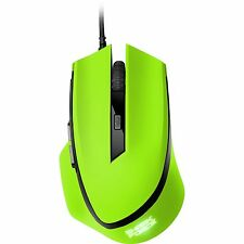 Sharkoon SHARK Force, Maus, optisch, 1600 dpi, USB, 6 Tasten, grün