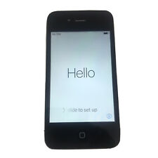 Iphone 4S 8Gb Model A 1387 Black At&T Locked No Sim Card Great Condition Reset