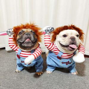 Pet Dog Costume Funny Costume Party Joey Cosplay Pet Dress Jumpsuit Jacket UK