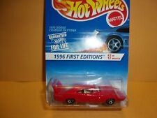 Hot Wheels For Life 1996 First edition 1970 dodge charger daytona # 3 of 12