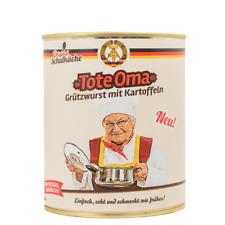 Original Schulküche - Tote Oma 800g (Grützwurst mit Kartoffeln)