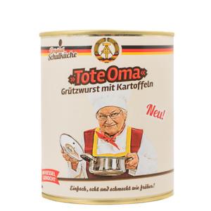 Original Schulküche - Tote Oma 800g (Grützwurst mit Kartoffeln) (4,49 €/kg)