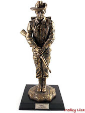 Silent Soldiers Lest We Forget Bronze Statue Figurine Ornament Limited Edition