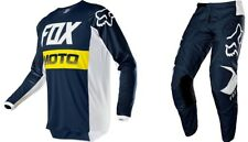 Fox Racing 2020 Youth 180 Prix Pant and Jersey Combo Navy Off Road MX F20YPRIX7