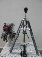 DESIGNER NAUTICAL MARINE TABLE LAMP  GREY TRIPOD  LAMP HOME DECOR