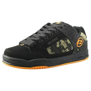 Scarpe Uomo Donna Skate GLOBE Shoes Tilt Black Camo Orange Schuhe Chaussures