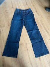 TALBOTS BOOTCUT STONEWASHED BLUE JEANS SIZE 14 (US 10) W30 L32