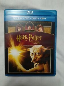 Harry Potter and the Chamber of Secrets (Blu-ray DVD) no digital copy MINT WORKS