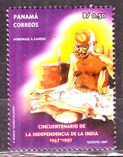 Panama Correos-Gandhi B/ 0.50 1997 MNH Condition Stamp #G21