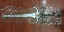 "WOW World of War Craft Cosplay Frostmourne Lich King 39"" Foam Sword Replica LARP"