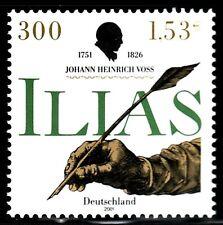 SELLOS  ALEMANIA  2001 JOHAN HEINRICH VOSS POETA 2002 1v.