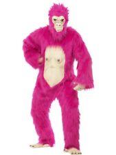 gorillakostüm NEON ROSA GORILLA SCIMMIA Jackass Costume