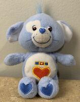 "Care Bear Cousins 10"" LOYAL HEART DOG PLUSH TOY Stuffed Animal 2004"