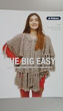 Patons Pattern Book #0010 The Big Easy Pattern by Nikki Gabriel using Inca Yarn