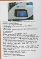 i.onik TP7-1000DC  17,8 cm (7 Zoll) Tablet-PC  512 MB RAM, 8GB, Android 4.1