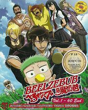 DVD Beelzebub Complete Anime Series 60 Episodes English Subs