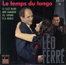 LEO FERRE LE JAZZ BAND FRENCH ORIG EP