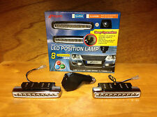 JDM DAYTIME RUNNING LED DRIVING LIGHTS WITH WIRELESS REMOTE NZ