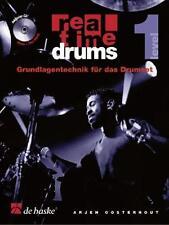 Real Time Drums, m. Audio-CD. Level.1 von Arjen Oosterhout (2008, Taschenbuch)