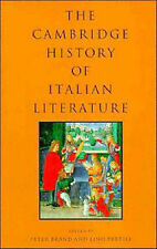 The Cambridge History of Italian Literature HARDCOVER Free Postage in Aust