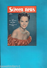 #T42.  NEW  SCREEN NEWS MAG. 19/8/1960, LEE REMICK  COVER