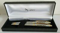 ELAL Airline 787 Dreamliner Ballpoint Pen And Mechanical Pencil Luxury Gift Set