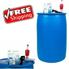 Emergency Drinking Water Storage Survival Long Term Container Purifier Tank Pump