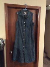 Women's Dress - CJ Banks Brand - Size 22W - Jean Material - Blue