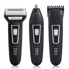 Multifunction Mens Professional Shaving Shaver Rechargeable Hair Clipper Removal