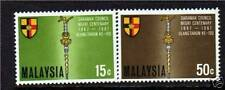 Mint Hinged Malayan & Straits Settlements Stamps